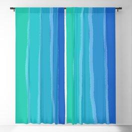 Vertical Color Tones #2 - Rainbow Collection Blackout Curtain