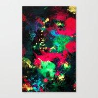 splash Canvas Prints featuring Splash by RIZA PEKER