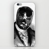 wrestling iPhone & iPod Skins featuring WRESTLING MASK 7 by DIVIDUS
