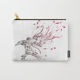 Liquid Crow Colored Carry-All Pouch