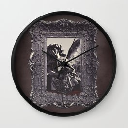 Tears of and angel Wall Clock