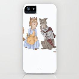 housecats gossip iPhone Case