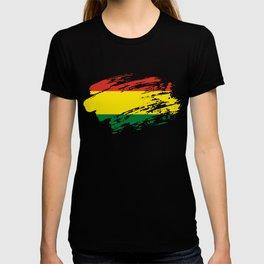 Bolivia Flag Tee T-shirt