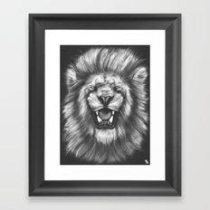 Courageous (Original drawing) Framed Art Print