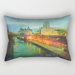 Where He Tarries Rectangular Pillow