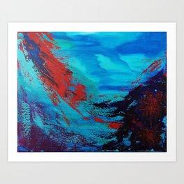 Underwater Life Art Print