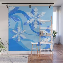 The Flower Abstract Holiday Wall Mural