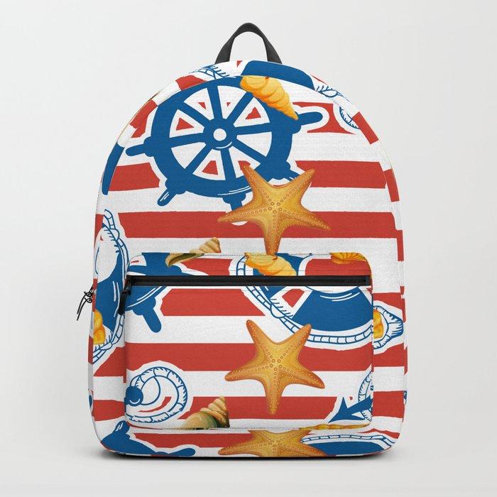 summer sea Backpack