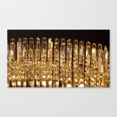 Golden Skyscrapers of Glass Canvas Print