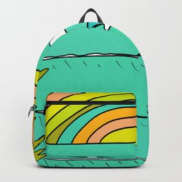 pineapple fields and endless summer vibes Backpack