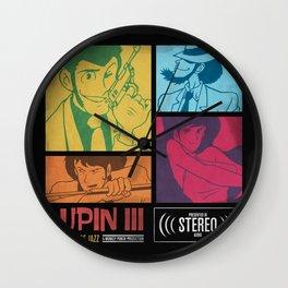 Lupin III Jazz Record Wall Clock