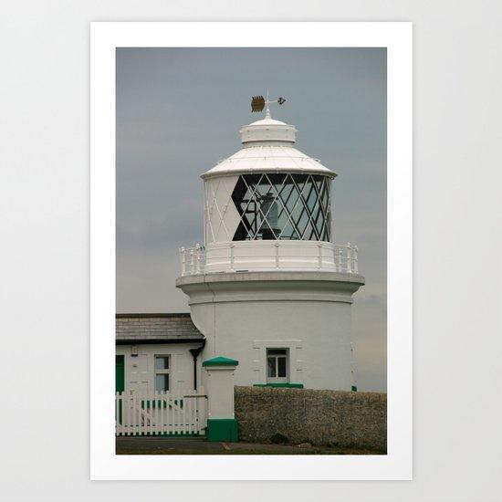Durlston Lighthouse Art Print