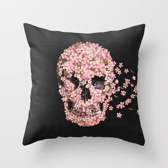 A Beautiful Death  Throw Pillow