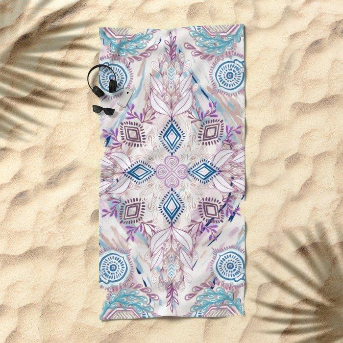 Wonderland in Winter Beach Towel