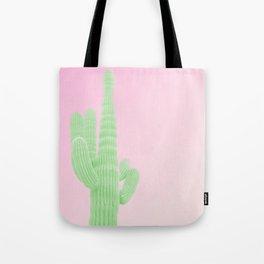 Cactus Pink Tote Bag