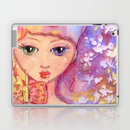 """butterfly bows"" by Dani Choate Laptop & iPad Skin"