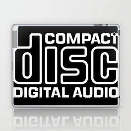 Compact Disk Digital Audio Logo - White Laptop & iPad Skin