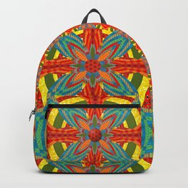 Thistle Pattern Backpack