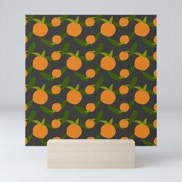 Mangoes in the dark Mini Art Print