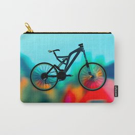colourful  bike Carry-All Pouch