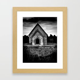 No Trespassing! Framed Art Print