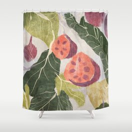 Higos Shower Curtain