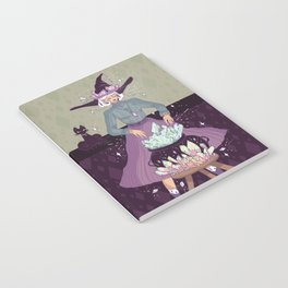Crystal Witch Notebook