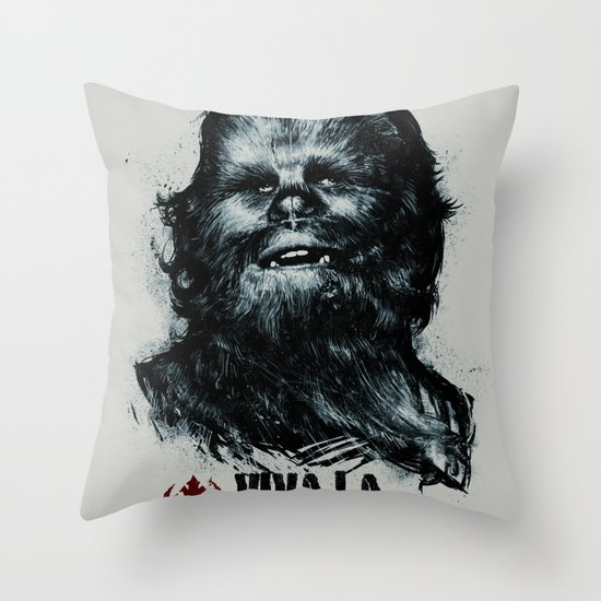 CHE-wbacca Throw Pillow