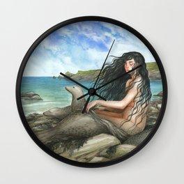 Selkie Wall Clock