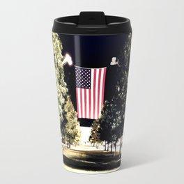 patriotism at the theater Travel Mug