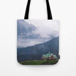 Waterton Fog Tote Bag