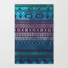 Azzurro | Tribal Canvas Print