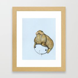 Minor Headache Framed Art Print