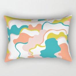 gemma, abstract pattern Rectangular Pillow