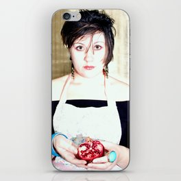 pomegranate viscera iPhone Skin