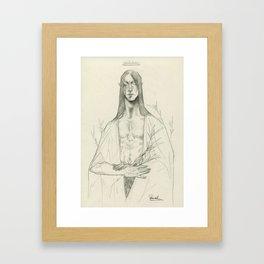 Silvin Sketch 01 Framed Art Print