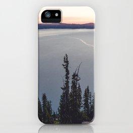 Lakeside Sunrise iPhone Case