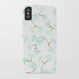 How delicate the orchid's eternal bloom iPhone Case