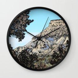 Autumn's Edge Wall Clock
