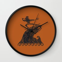 Broseidon Wall Clock