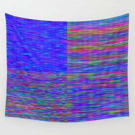 Re-Created Flag V by Robert S. Lee Wall Tapestry