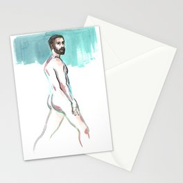 SCOTT, Nude Male by Frank-Joseph Stationery Cards