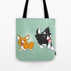 Doggies! Tote Bag