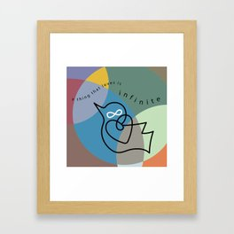 a thing that loves Framed Art Print