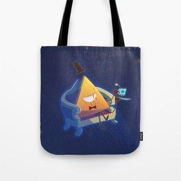 Bill Cipher [Gravity Falls] Tote Bag