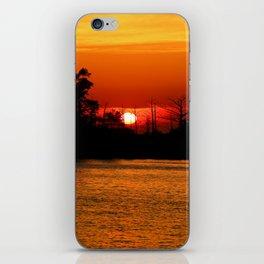 Cape Fear River Sunset iPhone Skin