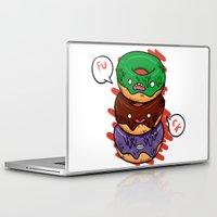 donut Laptop & iPad Skins featuring Donut by jeff'walker