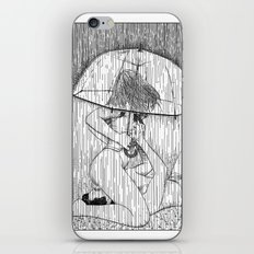 asc 514 - La fille qui aimait la pluie (Rider on the storm) iPhone & iPod Skin