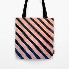 Diagonal Lines Tote Bag