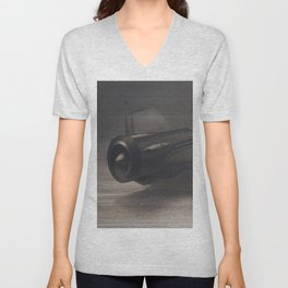 Old airplane 3 Unisex V-Neck